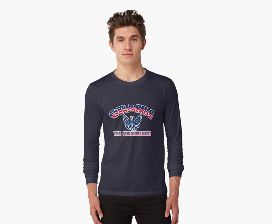 Obama t-shirt by valizi