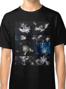 Macro Snowflakes Classic T-Shirt
