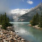 Lake Louise Alberta by HighHeadArtwork