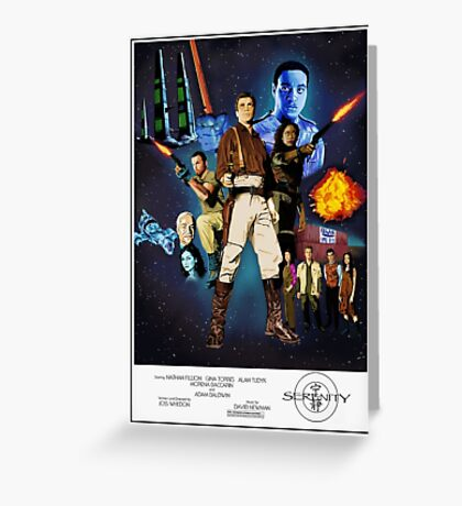 Serenity: The Alliance Strikes Back Greeting Card