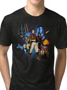 Serenity: The Alliance Strikes Back Tri-blend T-Shirt
