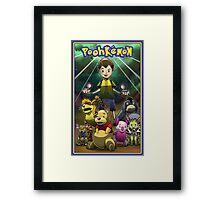 Poohkemon Framed Print
