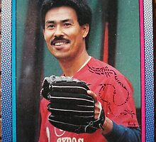 347 - Denny Martinez by Foob's Baseball Cards