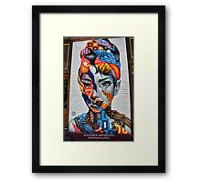 An Icon Framed Print