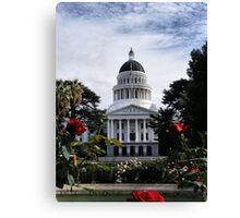 State Capital ~ Sacramento, California Canvas Print