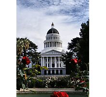 State Capital ~ Sacramento, California Photographic Print