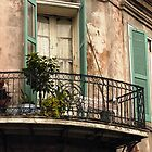 Balconies of Bourbon Street by KSkinner