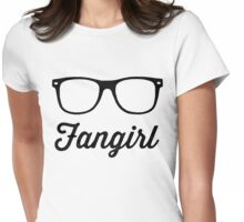Fangirling is a Profession Womens Fitted T-Shirt
