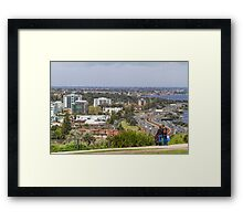 Perth City from Kings Park, Western Australia #3 Framed Print