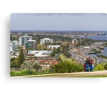 Perth City from Kings Park, Western Australia #3 Canvas Print