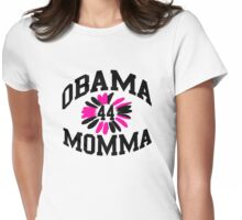 Obama Momma #44 Womens Fitted T-Shirt