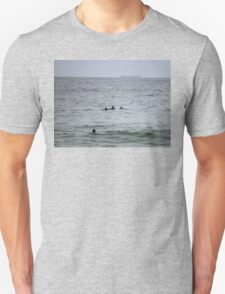 Surfing Dolphins @ Newcastle T-Shirt