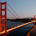 Golden Gate Bridge Wide by Andy Brooks
