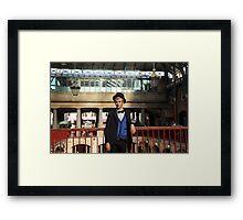 Covent Garden: Face of ??? Framed Print