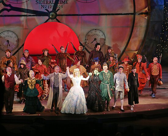 Cast of WICKED by abfabphoto