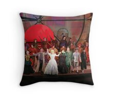 Cast of WICKED Throw Pillow