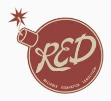 Red Team - Reliable Excavation Demolition Kids Clothes