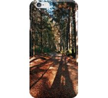 Indian summer forest trail | landscape photography iPhone Case/Skin