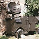Anti-Aircraft Radar Trailer by Edward Denyer
