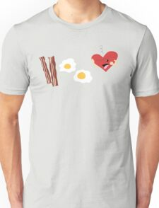 Who doesn't love bacon and eggs? Unisex T-Shirt