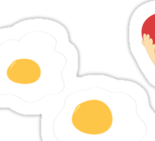 Who doesn't love bacon and eggs? Sticker