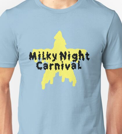 Milky Night melty star Unisex T-Shirt