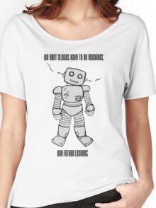 Robot Machines Women's Relaxed Fit T-Shirt