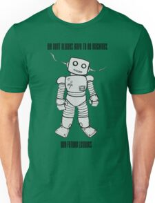 Robot Machines Unisex T-Shirt