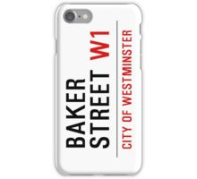 baker street phone iPhone Case/Skin