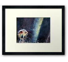 Boat abstract Framed Print