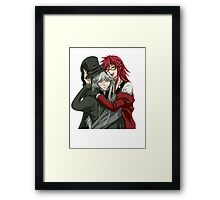 Grell, and Undertaker  Framed Print
