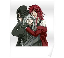 Grell, and Undertaker  Poster