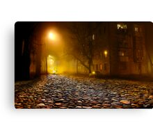Night Out Canvas Print