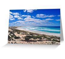Gunyah Beach and Sand Dunes Greeting Card