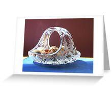 Xtal Bowl (photo) Greeting Card