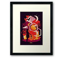 Illuminates Framed Print