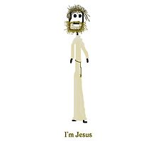 I'm Jesus Card by MuscularTeeth