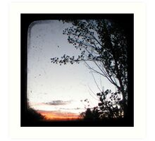 New England Sunset Art Print