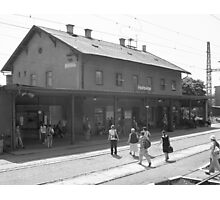 """Horovice Station."" Photographic Print"
