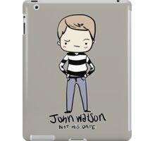 John is Not Entertained iPad Case/Skin