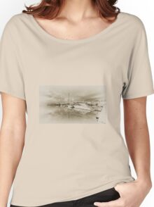 Faded Reflections  Women's Relaxed Fit T-Shirt