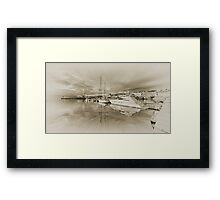Faded Reflections  Framed Print
