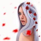 Rain of flowers by Richard Eijkenbroek