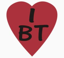 I Love BT - Country Code Bhutan T-Shirt & Sticker by deanworld