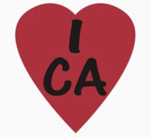I Love Canada - Country Code CA T-Shirt & Sticker by deanworld