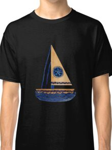 The Tribal Sailboat Classic T-Shirt