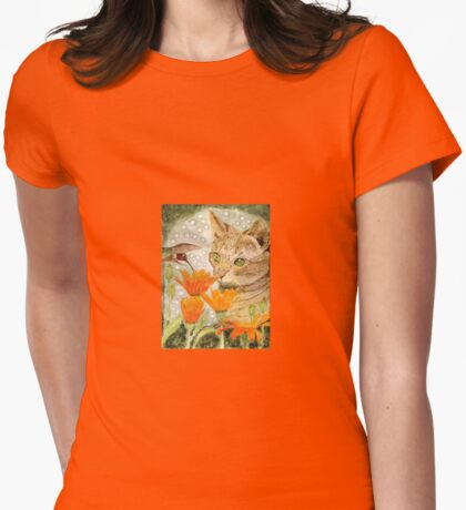 Eye To Eye Womens Fitted T-Shirt