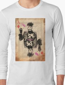 Ace of Diamonds Gambit Long Sleeve T-Shirt