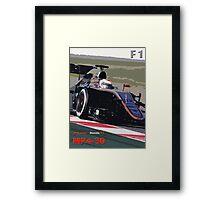 McLAREN - HONDA F1 Framed Print