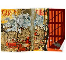Car Wash Antigua Poster